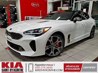 Used 2018 Kia Stinger GT Limited AWD ** NAVI / CUIR / TOIT for sale in St-Hyacinthe, QC