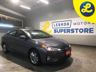 Used 2019 Hyundai Elantra Android Auto and Apple CarPlay * Blind Spot Detection (BSD) with Lane Change Assist/Rear Collision Warning* Reverse camera * Phone connect * Voice rec for sale in Cambridge, ON