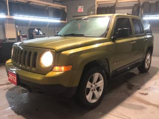 Used 2012 Jeep Patriot North Edition * Cruise Control * Steering Wheel Controls * Voice Recognition * Hands Free Calling * AM/FM/SXM/Aux * Automatic/Manual for sale in Cambridge, ON