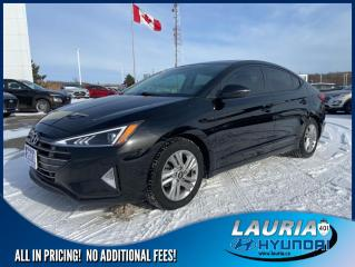 Used 2019 Hyundai Elantra PREFERRED AUTO for sale in Port Hope, ON