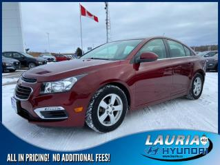 Used 2016 Chevrolet Cruze Limited 2LT - Leather / sunroof for sale in Port Hope, ON