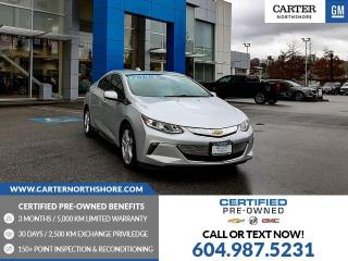 Used 2018 Chevrolet Volt LT REAR VIEW CAMERA - BLUETOOTH for sale in North Vancouver, BC