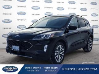 Used 2020 Ford Escape Titanium Hybrid - Navigation - $217 B/W for sale in Port Elgin, ON