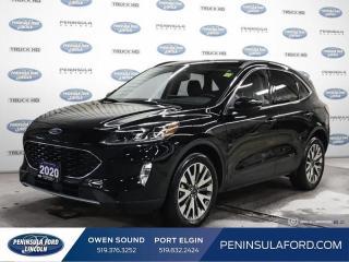 Used 2020 Ford Escape Titanium Hybrid - Navigation - $214 B/W for sale in Port Elgin, ON