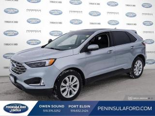 Used 2020 Ford Edge Titanium - Heated Seats -  Power Tailgate - $215 B/W for sale in Port Elgin, ON
