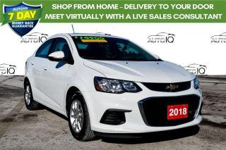 Used 2018 Chevrolet Sonic LT Auto BOUGHT/SERVICED HERE for sale in Grimsby, ON