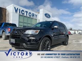 Used 2018 Ford Explorer XLT   Navigation   Heated Seats for sale in Chatham, ON