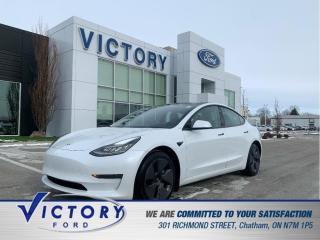 Used 2021 Tesla Model 3 Standard Range Plus | 3.99% | NAVIGATION | HEATED for sale in Chatham, ON