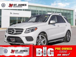 Used 2018 Mercedes-Benz GLE 400, One Owner, Apple CarPlay, Heated Steering for sale in Winnipeg, MB