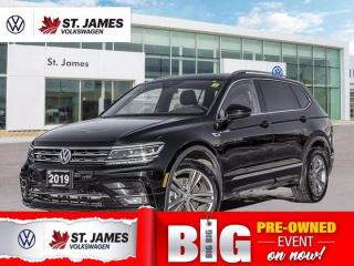 Used 2019 Volkswagen Tiguan Highline R-Line, Clean Carfax, Apple CarPlay, Panoramic Sunroof for sale in Winnipeg, MB