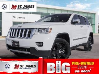 Used 2011 Jeep Grand Cherokee Overland, Local One Owner, Heated Seats, Backup Camera for sale in Winnipeg, MB