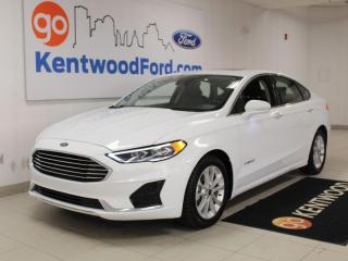 Used 2019 Ford Fusion Hybrid SEL | HYBRID | Great on Fuel! | Moonroof | Adaptive Cruise | text remote start for sale in Edmonton, AB