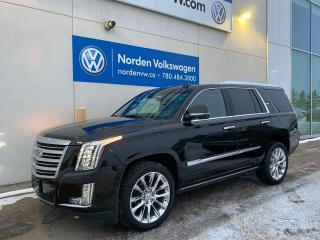 Used 2019 Cadillac Escalade PLATINUM LOADED! - MASSAGE SEATS / PWR BOARDS / EVERYTHING for sale in Edmonton, AB