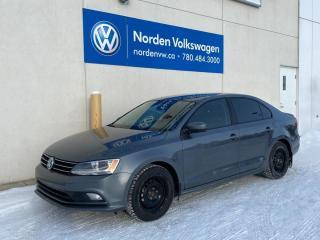Used 2017 Volkswagen Jetta Sedan TRENDLINE+ AUTO - HTD SEATS / BACKUP CAM / VW CERTIFIED for sale in Edmonton, AB