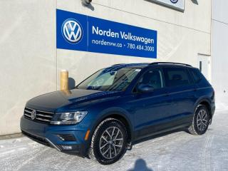 Used 2018 Volkswagen Tiguan TRENDLINE W/ CONVENIENCE + 3RD ROW PKG / VW CERTIFIED for sale in Edmonton, AB