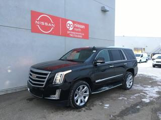 Used 2015 Cadillac Escalade Premium / AWD / Blind Spot Monitoring / Leather / Roof / Heated and Cooled Seats / Loaded for sale in Edmonton, AB