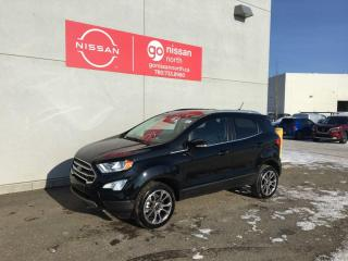 Used 2020 Ford EcoSport Titanium / 4WD / Leather / Sunroof / Touch Screen / for sale in Edmonton, AB