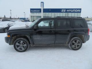 Used 2015 Jeep Patriot HIGH ALTITUDE/LEATHER/ROOF/4X4 for sale in Edmonton, AB