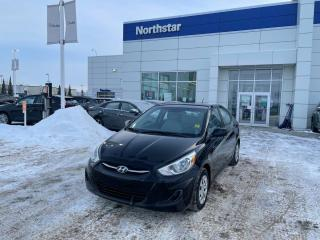 Used 2015 Hyundai Accent L MANUAL/AUX/CD/ for sale in Edmonton, AB