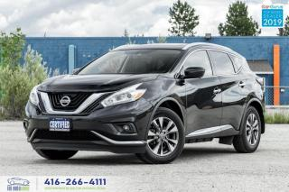 Used 2017 Nissan Murano Nav|Roof|Clean Carfax| for sale in Bolton, ON