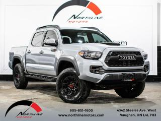 Used 2017 Toyota Tacoma TRD PRO/Navigation/Blindspot/Leather for sale in Vaughan, ON