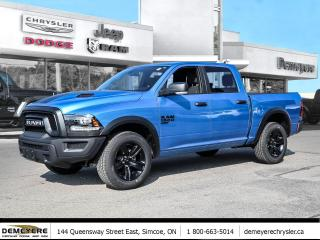 New 2021 RAM 1500 Classic WARLOCK | NO PAYMENTS FOR 3 MONTHS, OAC for sale in Simcoe, ON