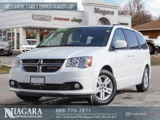 Used 2019 Dodge Grand Caravan Crew   POWER DOORS AND TAILGATE for sale in Niagara Falls, ON
