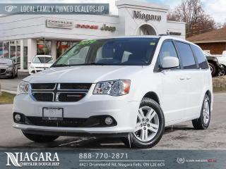 Used 2019 Dodge Grand Caravan Crew | POWER DOORS AND TAILGATE for sale in Niagara Falls, ON
