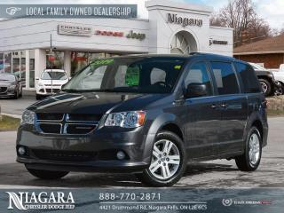 Used 2019 Dodge Grand Caravan Crew | NAVIGATION for sale in Niagara Falls, ON