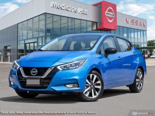 New 2021 Nissan Versa SR for sale in Medicine Hat, AB