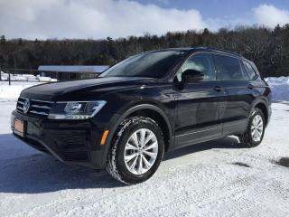 Used 2019 Volkswagen Tiguan Trendline 2.0 8sp at w/Tip 4M for sale in Owen Sound, ON
