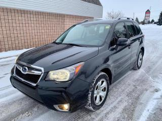 Used 2015 Subaru Forester 2.0XT LIMITED | BACKUP CAM | NAVI | LANE ASSIST | COLLISION ALERT | for sale in Barrie, ON
