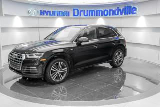 Used 2018 Audi Q5 TECHNIK QUATTRO + GARANTIE + S-LINE + WO for sale in Drummondville, QC