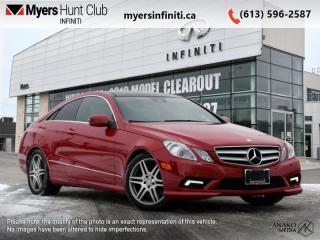 Used 2010 Mercedes-Benz E-Class 2DR CPE 5.5L RWD  E- Class E 550 Coupe for sale in Ottawa, ON
