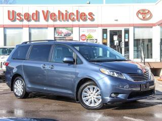 Used 2017 Toyota Sienna XLE AWD NAV ALLOYS SUNROOF LEATHER HEAT-SEAT for sale in North York, ON