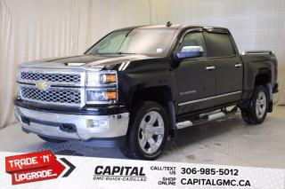 Used 2014 Chevrolet Silverado 1500 LTZ with 1LZ Crew Cab *LEATHER*SUNROOF* for sale in Regina, SK