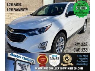 Used 2020 Chevrolet Equinox LS* Bluetooth/Low kms/REMOTE STARTER for sale in Winnipeg, MB