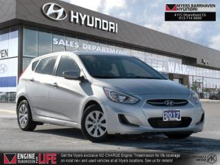 Used 2017 Hyundai Accent SE  - Bluetooth -  Heated Seats - $84 B/W for sale in Nepean, ON