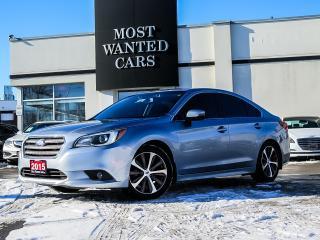 Used 2015 Subaru Legacy AWD|LIMITED|EYE SIGHT|BLINDSPOT|ACC|NAV|PADDLE|SUNROOF for sale in Kitchener, ON