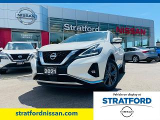 New 2021 Nissan Murano Platinum for sale in Stratford, ON
