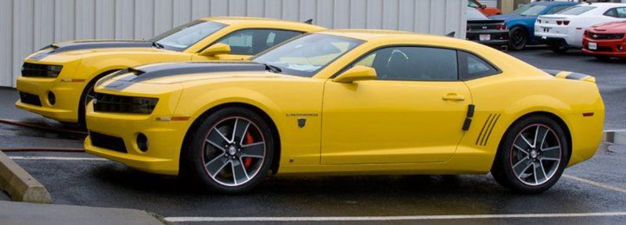 Photo of RALLY YELLOW 2010 Chevrolet Camaro