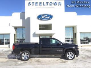 Used 2018 Chevrolet Silverado 1500 Custom  - Aluminum Wheels for sale in Selkirk, MB