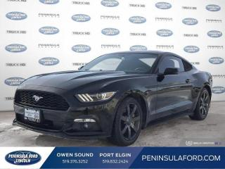 Used 2016 Ford Mustang EcoBoost Premium - Leather Seats - $176 B/W for sale in Port Elgin, ON