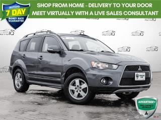 Used 2011 Mitsubishi Outlander LS | ONE OWNER | NO ACCIDENTS | for sale in Barrie, ON