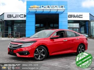 Used 2018 Honda Civic Touring ONE OWNER! | LANEWATCH! for sale in Burlington, ON