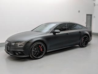 Used 2017 Audi A7 Sportback DRIVER ASSISTANCE PLUS/S LINE/360 CAMERA/BLIND SPOT! for sale in Toronto, ON