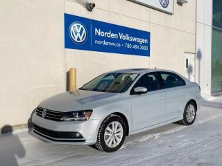 Used 2017 Volkswagen Jetta Sedan WOLFSBURG EDITION AUTO - HTD SEATS / SUNROOF / VW CERTIFIED for sale in Edmonton, AB