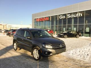 Used 2014 Volkswagen Tiguan HIGHLINE, 4MOTION, AWD, NAVIGATION for sale in Edmonton, AB