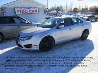 Used 2011 Ford Fusion SE for sale in North Bay, ON