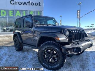 New 2021 Jeep Wrangler Willys for sale in Calgary, AB